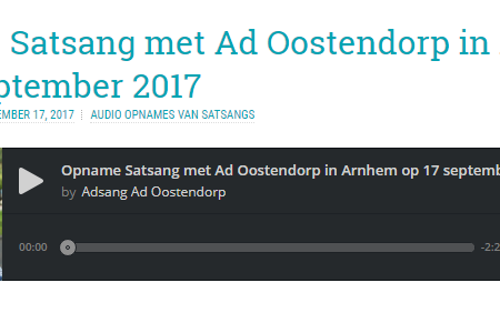 Downloaden van de opnames